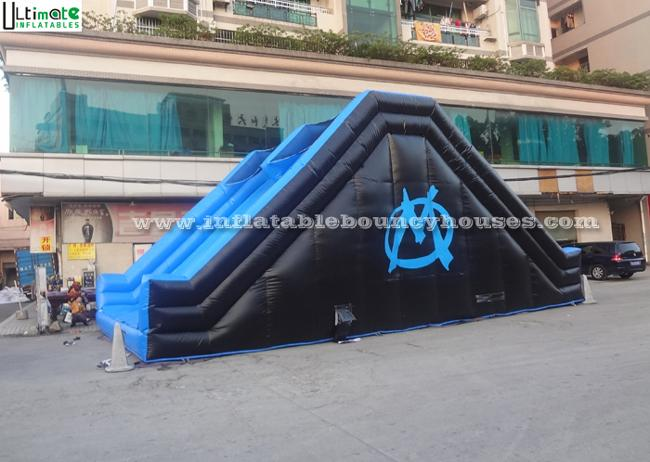 Commercial Grade Adults Giant Inflatable Slide For Mud Run Adventure