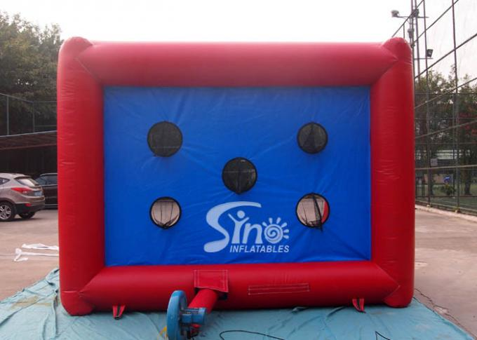 Kids N Adults Inflatable Football Goal Games With Big Shoot