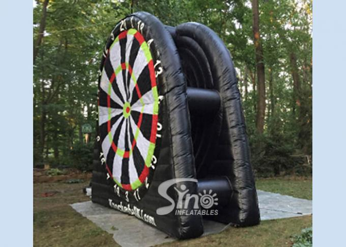 4 Meters High Outdoor Giant Inflatable Football Darts Board For Kids N Adults Interactive Games