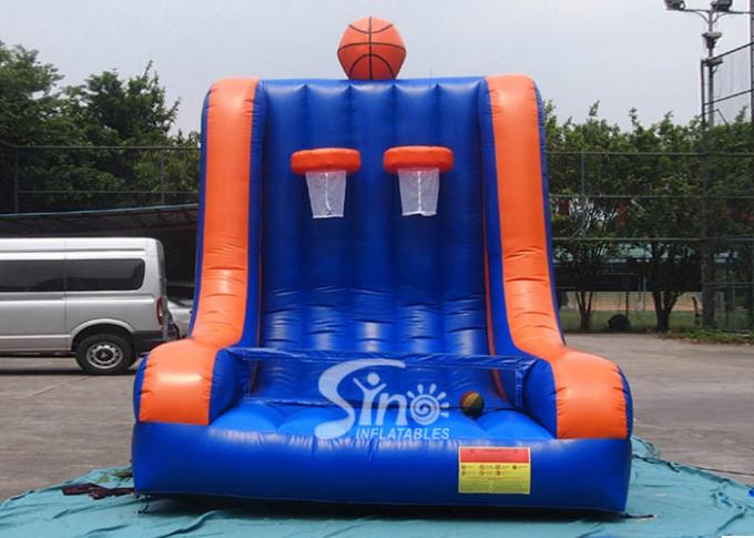 Custom Made Inflatable Double Basketball Shooting For Kids N Adults