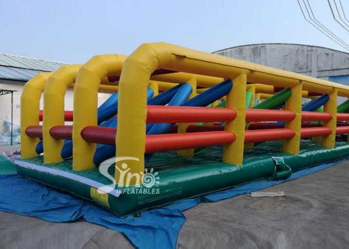 Extreme Maze Obstacle 5k Course Inflatable Fun Run Challenge For Obstacle Games