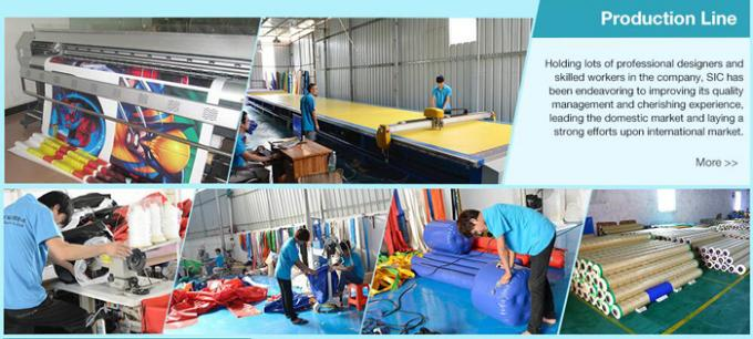 Giant Sports Arena Air Sealed Inflatable Tent Stadium With Roll Up Doors