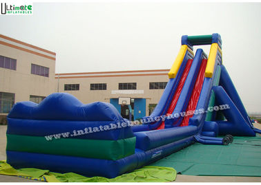 PVC Tarpaulin Commercial Inflatable Slides Water Proof 30Lx10Wx10Hm