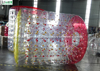 Adults / Children Human Zorb Ball , Clear Water Zorb Ball Hand Painting