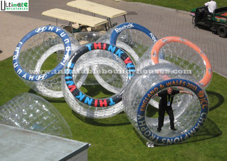 Aqua Land Printing Body Zorbing Balls TPU Or PVC 2.0-3.0 Meters