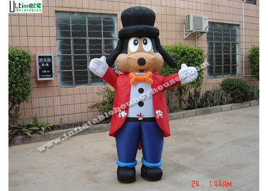 China Promotion OEM Cartoon Gentle Dog Advertising Inflatables For Events supplier