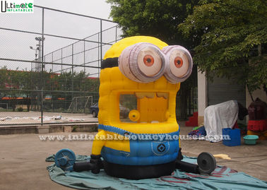 China Custom Inflatable Games , Lovely Despicable Me Inflatable Money Machine supplier