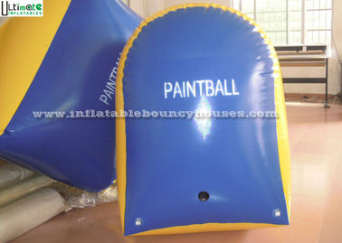 Customized Tomstone Inflatable Paintball Bunker PVC Tarpaulin EN71