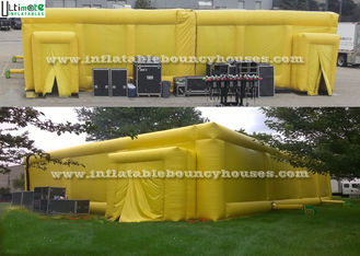 Reusable Inflatable Games , Commercial Inflatable Laser Tag Arena
