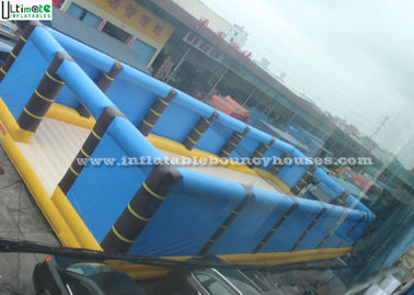 Giant Inflatable Volleyball Court Bouncing Castle Type EN14960
