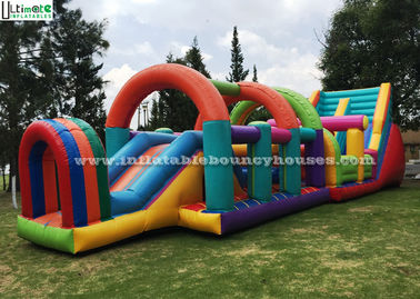 Colorful Children Interactive Game Inflatable Lead Free PVC Tarpaulin