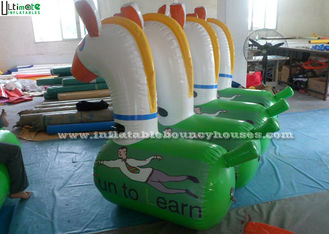 Certified Lead Free Material Inflatable Pony Horse Toys For Kids