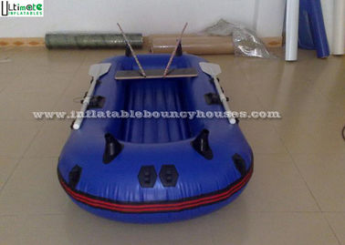 China Pool Rigid Inflatable Boats , Handing Painting Inflatable Pontoon Boats supplier