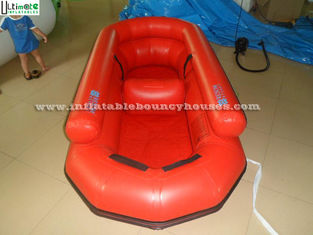 China Custom Made Lake Inflatable Rubber Boat / Certified Lead Free Material Inflatable Speed Boat supplier