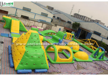 China Lead Free PVC Tarpaulin Inflatable Water Toys Digital Printing For Kids / Adults supplier