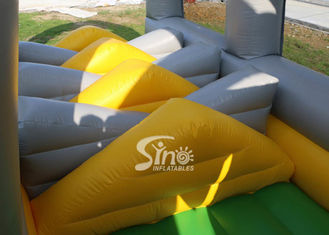 24m long big challenge adults inflatable obstacle course for boot camp or keeping fit made in Sino Inflatables