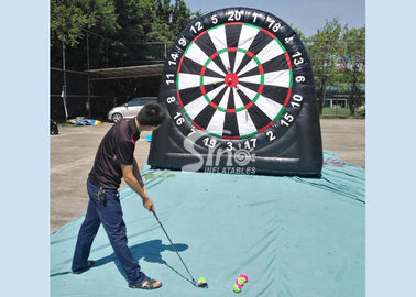 3m high 3in1 giant inflatable golf dart board with support base for kids N adults from golf dart game factory