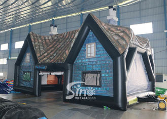 China 11x6 mts outdoor giant house inflatable pub tent  for night parties or events supplier