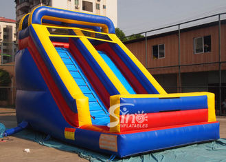 Toddler front load inflatable dry slide for indoor parties