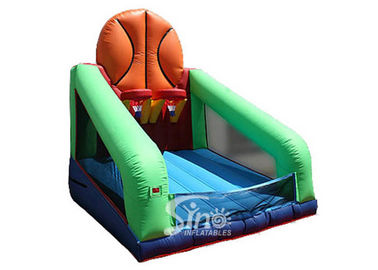 Commercial outdoor N indoor inflatable basketball shooting sport for kids N adults