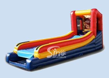 Amazing kids inflatable skee ball game for rolling N scoring challenge
