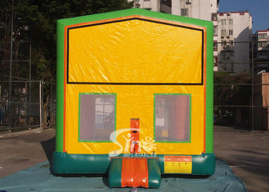 China 13x13 commercial inflatable module bounce house with various panels made of 18 OZ. PVC tarpaulin supplier
