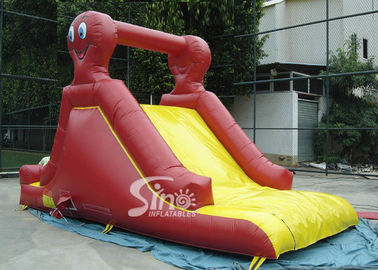Indoor small octopus kids inflatable slide made of lead free pvc tarpaulin for parties