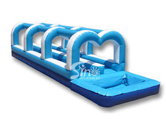 Giant bouncy inflatable slip and slide the city for sales from Sino Inflatables