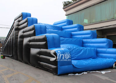 China Outdoor running N jumping inflatable 5K obstacle course for adults from Guangzhou factory supplier