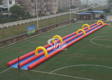 China Custom made outdoor kids N adults inflatable water slide N slip from Sino Inflatables factory supplier