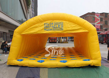 Outdoor kids N adults inflatable obstacle rush made of best material for interactive activities or events