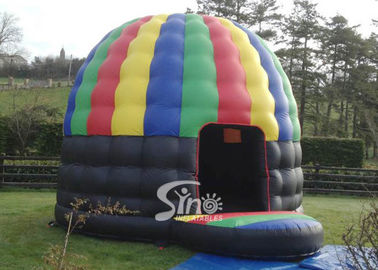 China Colorful Outdoor Inflatable Party Tent Disco Dome Bouncy Castle EN14960 supplier