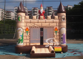 China 4x4m outdoor kids party Edinburgh inflatable bouncy castle made of 610g/m2 pvc tarpaulin supplier