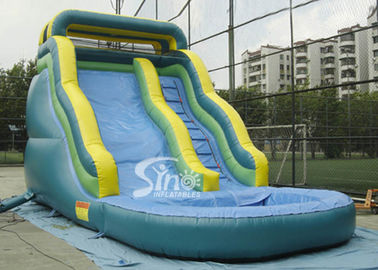 China 17 feet Front load tropical kids inflatable water slide with 3 years limited warranty supplier