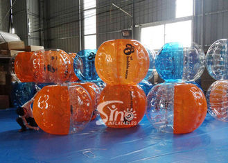 Top quality human inflatable bubble football for kids N adults outdoor interaction sports games