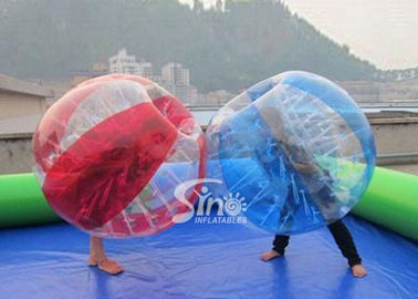 Kids N adults TPU inflatable bubble soccer ball with quality harness from Sino Inflatables