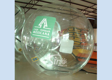 China 2 mts Dia. kids and adults transparent inflatable water walking ball for sale from Sino Inflatables supplier