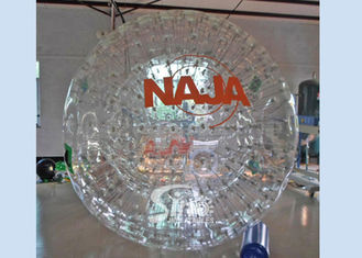 China Giant cheap inflatable grass ball person inside with certificated PVC or TPU material supplier
