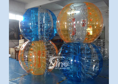 China Colorful kids N adults interaction inflatable bubble ball with quality harness from Sino inflatables supplier