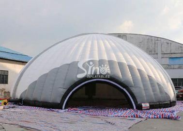 Outdoor 15m Dia. giant inflatable dome tent with removable doors from Sino Inflatables