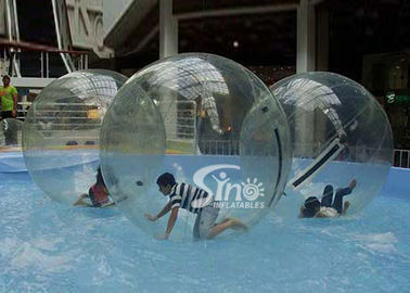 China Clear PVC and TPU inflatable water ball walking on water for kids and adults pool parties supplier