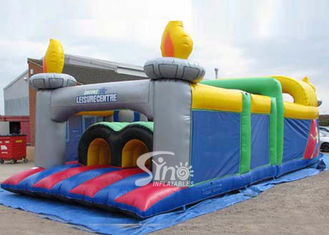 China Outdoor Kids Commercial Inflatable Obstacle Course For Inflatable Playground Equipment supplier