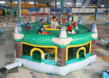 China 5m Dia. Giant Inflatable Human Whack A Mole For Children And Adults Interactive Fun supplier