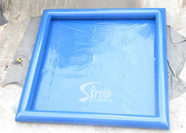 China Portable airtight cube inflatable swimming pool for kids and audlts inflatable water park equipment supplier