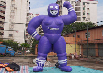 China Customized Funny Inflatable Muscle Man For Anytime Fitness Inflatable Advertising products supplier