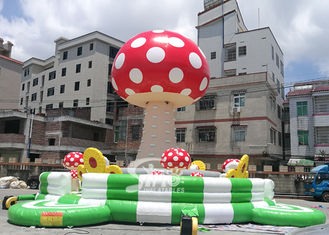 China New Design Inflatable Mushroom Climbing Tower With Safety Belt From China Inflatable Manufacturer supplier