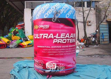 China Custom Advertising Inflatable Bottle Attractive Digital Printing supplier