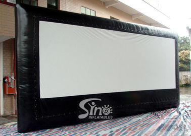 5 Meters High Advertising Inflatable Moving Screen Without Back Frame For Outdoor Promotion