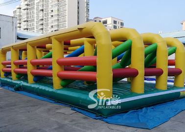 China Extreme Maze Obstacle 5k Course Inflatable Fun Run Challenge For Obstacle Games supplier