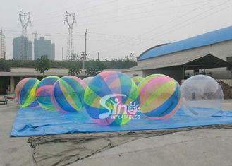 Popular Soccer Inflatable Body Bumper Balls For Party / Competition